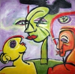3-Fates--24x24-oil-canvas