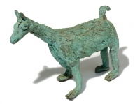 "Llama, bronze, 4.75"" x 7.5"" x 4.5"", edition of 25, $1,090"