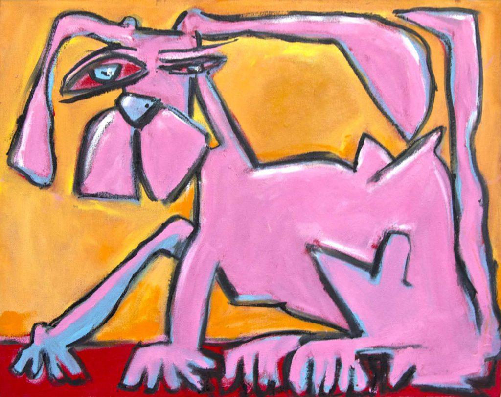 PinkDog oiloncanvas 16x20